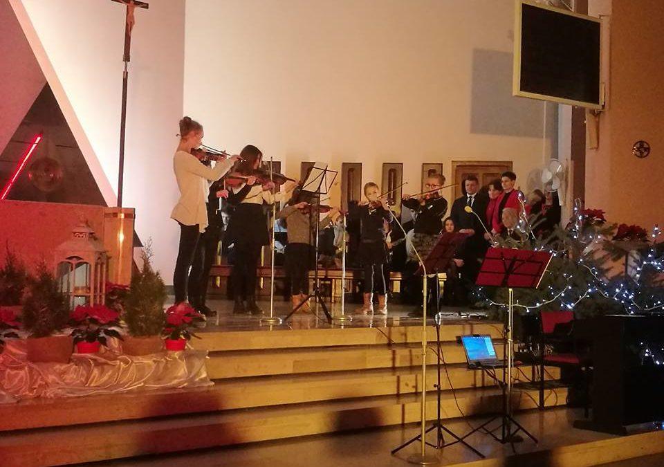 Koncert Noworoczny w Parafii Miłosierdzia Bożego w Puławach