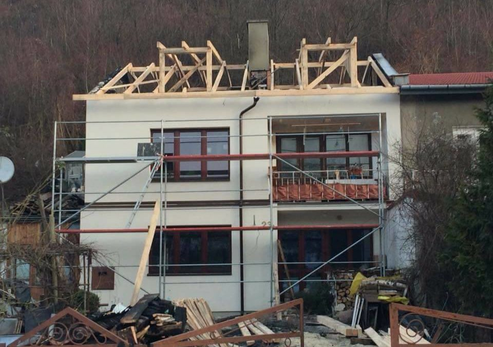 Ruszyła odbudowa domu w Kazimierzu Dolnym