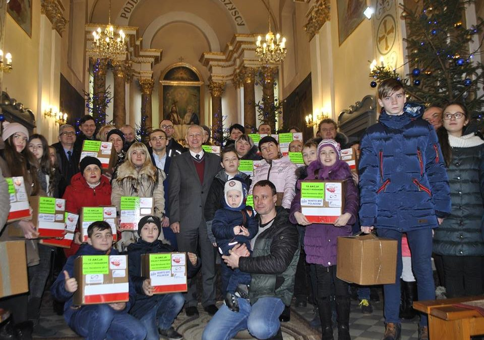 XVIII-ta Akcja Polacy-Rodakom Spotkania Bożonarodzeniowe i Noworoczne oraz przekazanie darów dla naszych rodaków zza wschodniej granicy