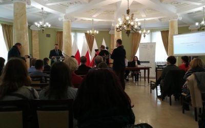 Spotkanie w Lubelskim Urzędzie Wojewódzkim dot. Funduszu Inicjatyw Obywatelskich.