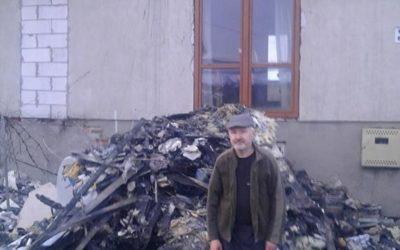 Pomoc na odbudowę domu Jarosława Głażewskiego z Wronowa