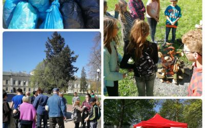 """Kolejna akcja sprzątania Parku """"Eko Park Czartoryskich"""""""