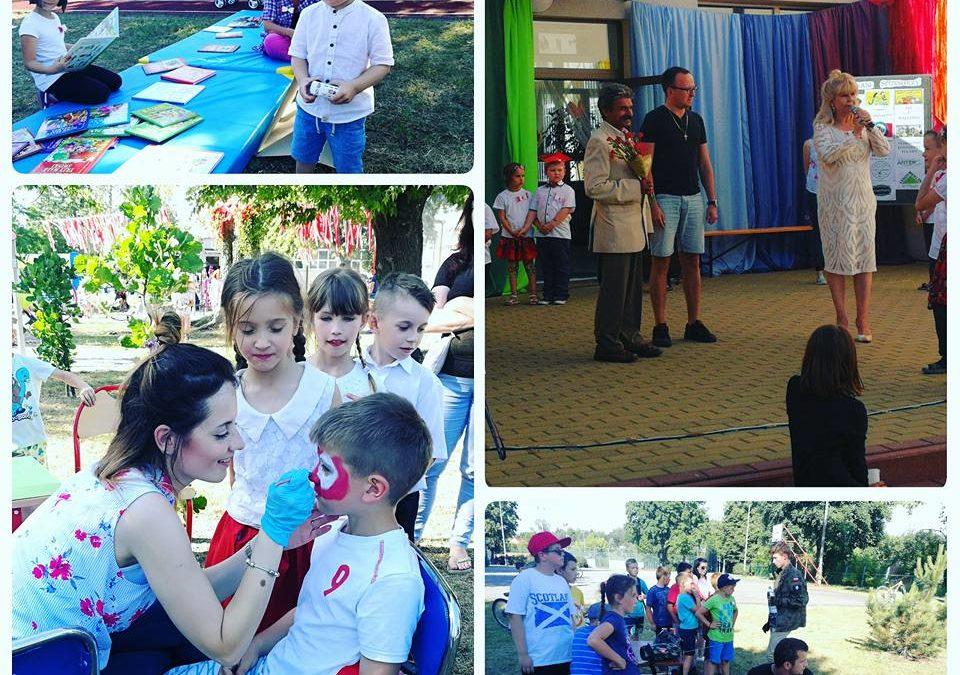 Festyn rodzinny w Szkole Podstawowej nr 4 w Puławach