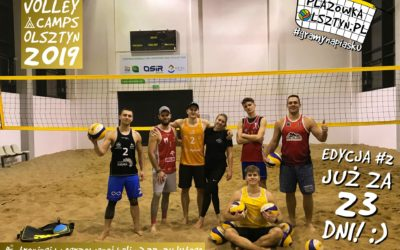 Beach Volley Camps Olsztyn – nasz zawodnik na obozie w Olsztynie