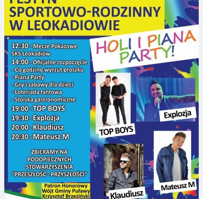 Festyn Sportowo Rodzinny w Leokadiowie