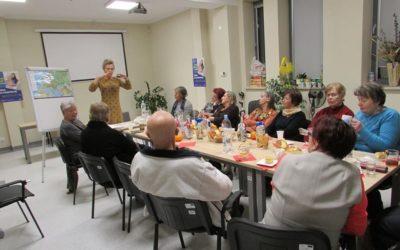 Szkolenie z podstaw paleontologii dla członków puławskiego Klubu Aktywnych Seniorów