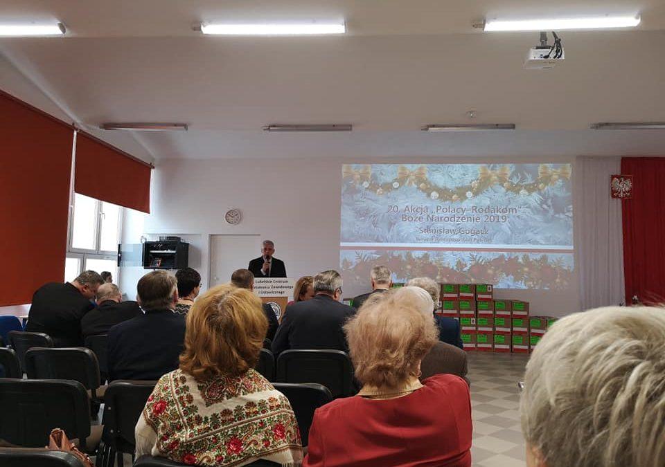 """XX Gala """"Polacy-Rodakom"""" w Lublinie"""