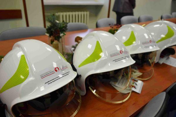 Nowy sprzęt strażacki trafił do OSP w Leokadiowie