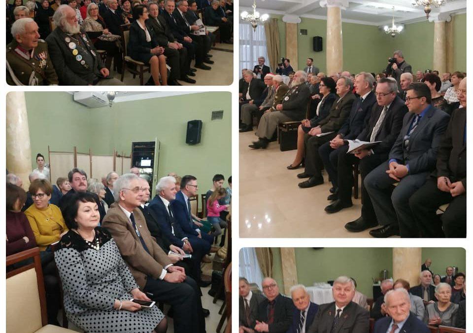Spotkanie Noworoczne Wojewódzkiej Rady Towarzystw Regionalnych.