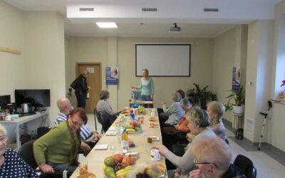 Spotkanie Klubu Seniora z br. Hanna Pawłowską