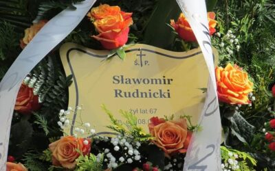 W piątek 11 czerwca 2021 roku odbył się pogrzeb Sławomira Rudnickiego